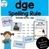 ge/dge Spelling Rule Pack