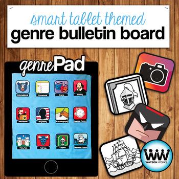 genrePad: Bulletin Board Set, Genre Posters, Bookmarks, and More!