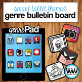Reading Genres Bulletin Board Set Genre Posters Bookmarks and More