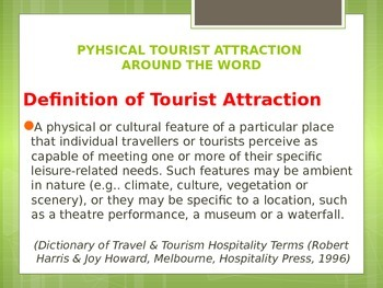 geography tourism