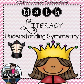 Math Literacy: Understanding Symmetry {Anchor Charts, Mats, Cards & MORE!}