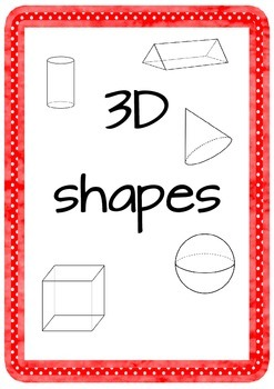 Geometry anchor charts and worksheets