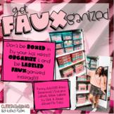 get FAUXganized!! {Organizational Labels!!}