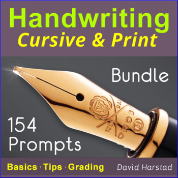 Handwriting Practice for Older Students + 91 Editing Skills + 223 Writing...