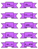 gh, ph, ng, ck Digraph Word Sort