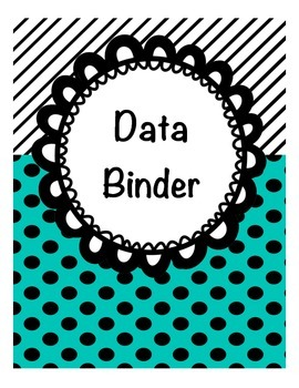 Data Binder Cover and Spine