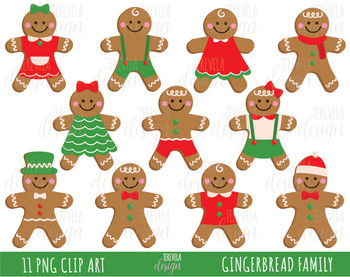 ginger cookies clipart, christmas clipart, commercial use,ginger man clipart