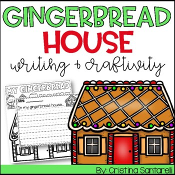Christmas Activities Gingerbread Writing Activity
