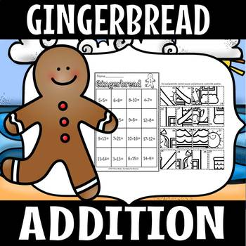 gingerbread addition and subtraction sort (sample)
