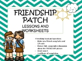 girl scout BROWNIE friendship patch