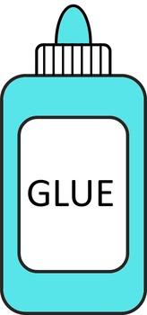 glue clipart