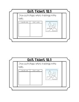 go math chapter 12 exit tickets