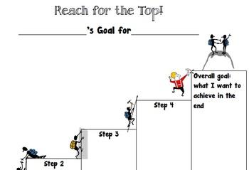 goal setting organizer
