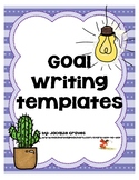 Goal Writing Templates