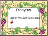 gods & goddesses of Mt. Olympus (Greek Mythology)