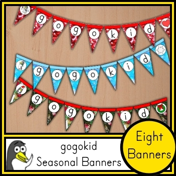 gogokid Classroom Banner Collection