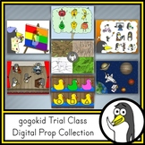 gogokid Trial Class | Digital Prop Collection