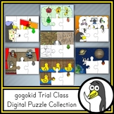 gogokid Trial Class | Digital Puzzle Collection