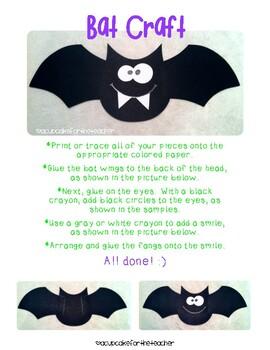 Going Batty {Free Craftivity}