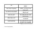 good vs bad ways to greet friends and classmates