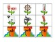 goofy garden: consonant blends and digraphs matching game