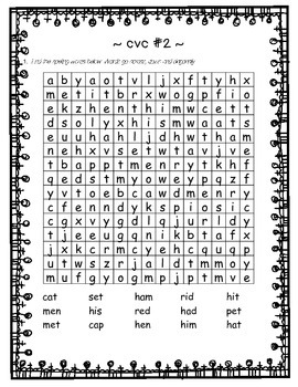 grade 1 2 SPELLING phonic PHONETIC 46 word search sleuth BUNDLE