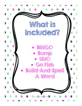 grade 2 suffixes -ful, -ment, -ness, -less Game Pack