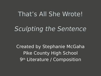 grammar, sentences, writing
