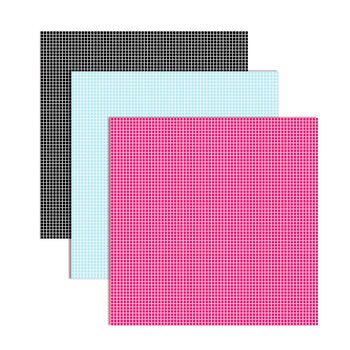 "graph/grid pattern digital paper in 48 colors  - background .jpg 12""x12"""