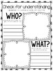 graphic organizers align with every daily five/cafe skill