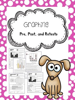 graphing pretests, posttests, and retests