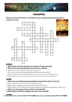 Great Fire of London Crossword