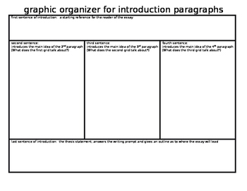 grid for introduction paragraph for an essay