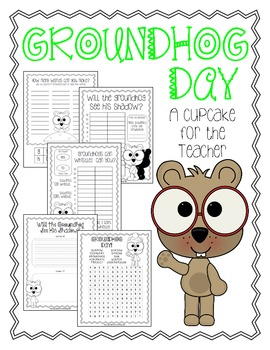 photo relating to Ground Hog Printable identify Groundhog Working day Totally free Printables