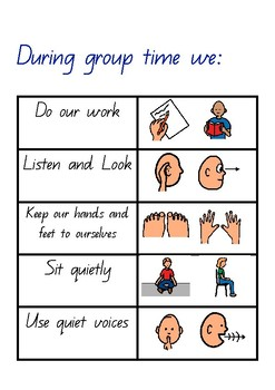 group learning expectations