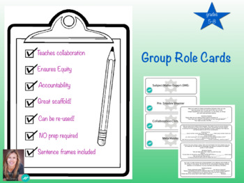 group role cards grades 9-12