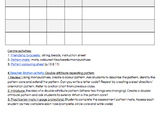 guided math checklists & stations: PATTERNS, GR2