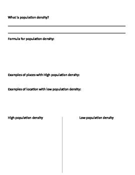 guided notes population