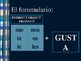 gustar + infinitive notes