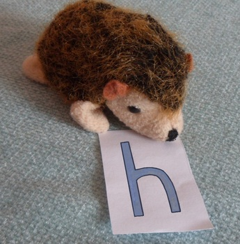 h - hedgehog phonic photo