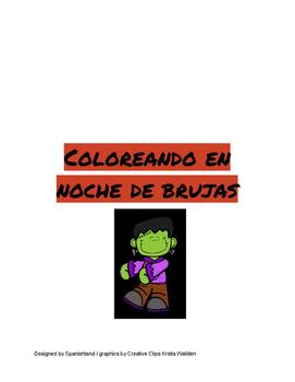 halloween Colors in Spanish