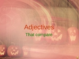 halloween adjectives that compare