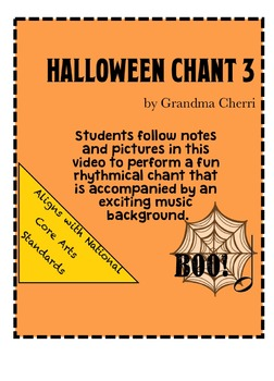 halloween chant rhythm #3
