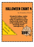 halloween chant rhythm #4
