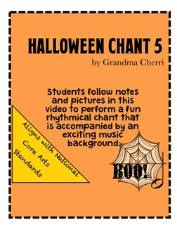 halloween chant rhythm #5