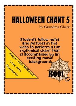halloween chant rhythm #5