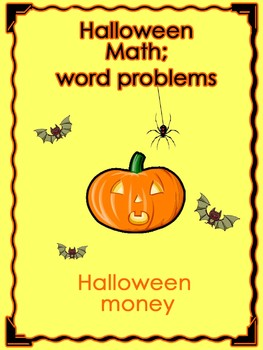 halloween math money word problems