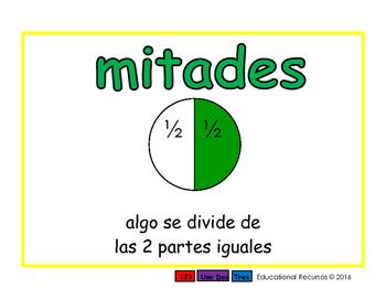 halves/mitades meas 2-way blue/verde