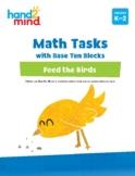 hand2mind Math Tasks with Base Ten Blocks, Addition & Subt