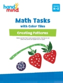 hand2mind Math Tasks with Color Tiles, Creating Patterns,